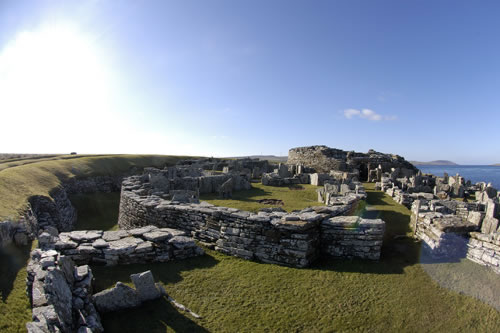 Broch of Gurness - 7.5 miles