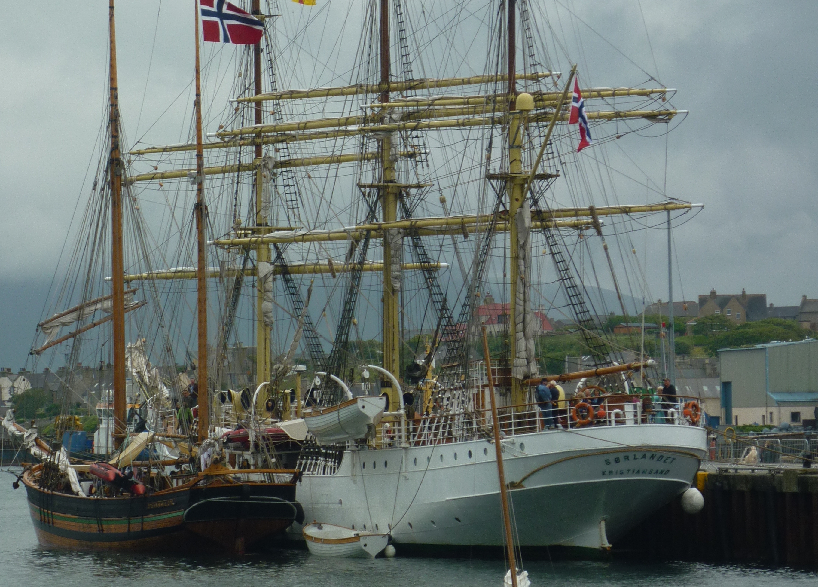 Tall Ships. Stromness - 13.5 miles